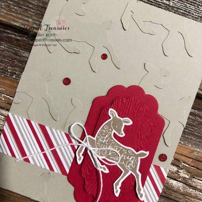 Peaceful Deer Christmas Card