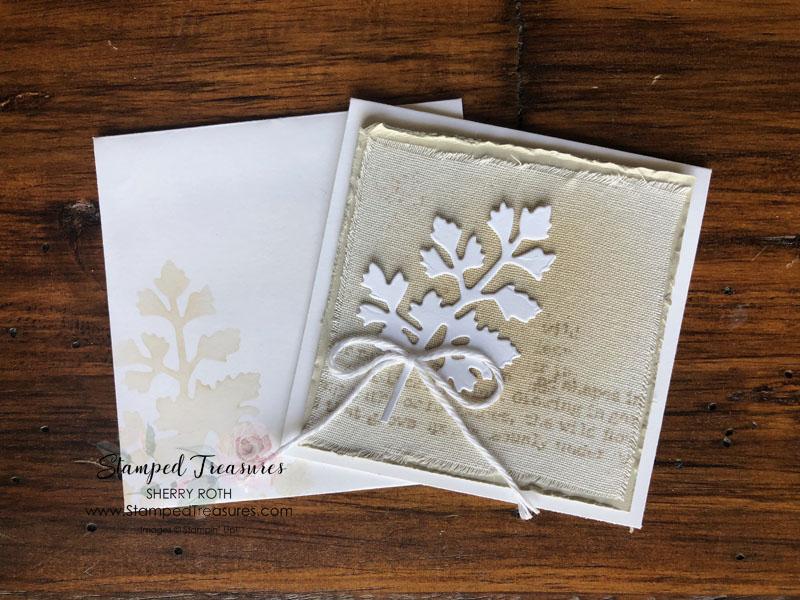 "Quiet Meadow 3"" x 3"" Card"