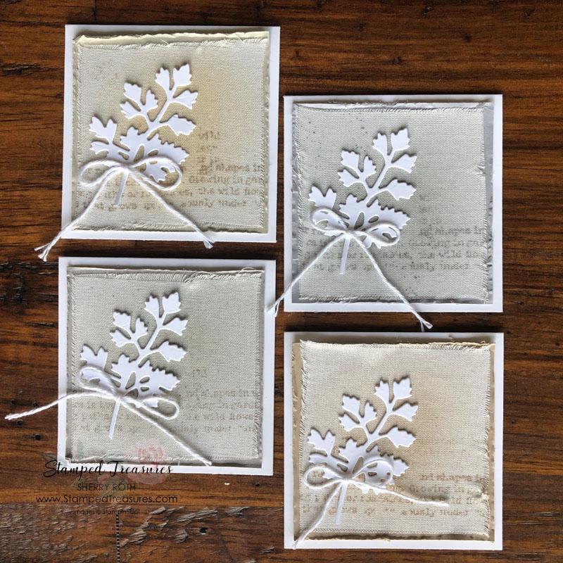Quiet Meadow Mini Cards