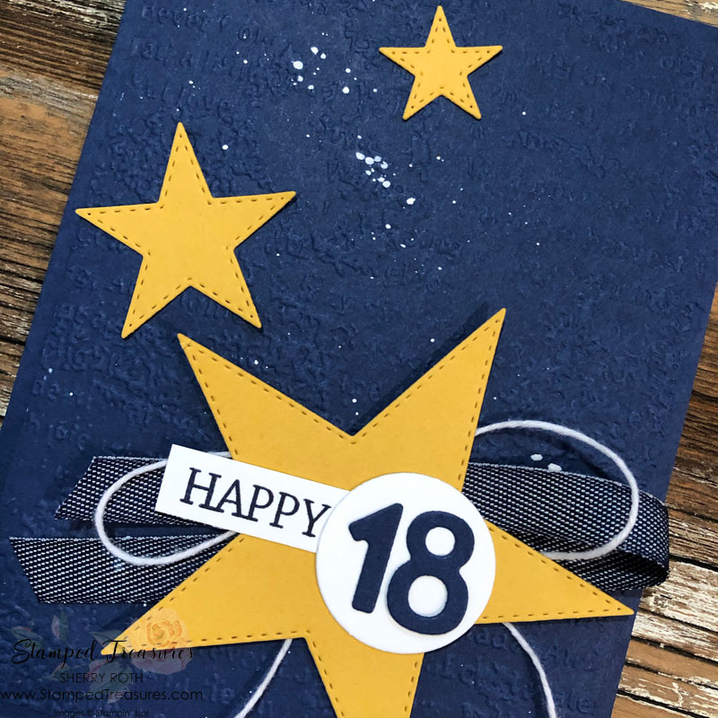 Masculine 18th Birthday Card