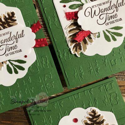 Christmas Card using Stampin' Up!'s Christmas Season Bundle