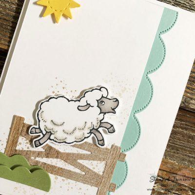 Counting Sheep Card
