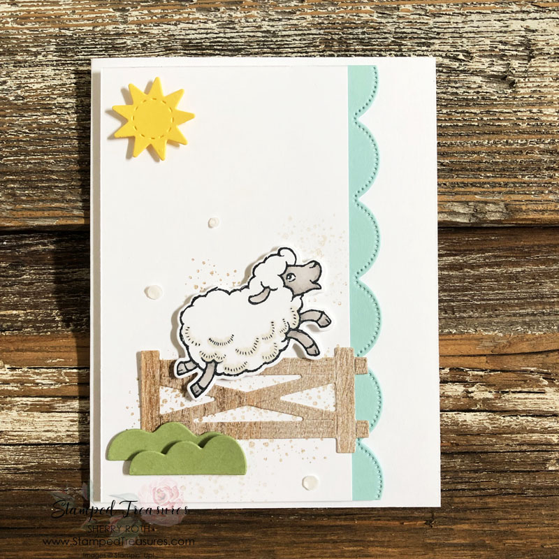 Counting Sheep You're Amazing Card