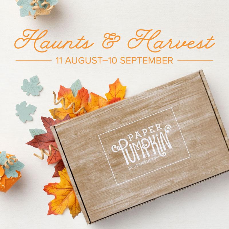 Haunts & Harvest Paper Pumpkin Kit