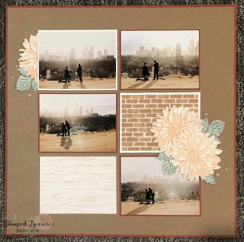 The Proposal Scrapbook Layout 2