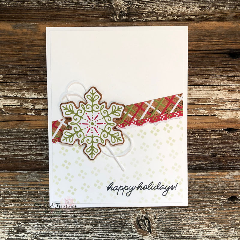 Frosted Gingerbread Card