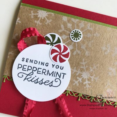 Frosted Gingerbread Christmas Card