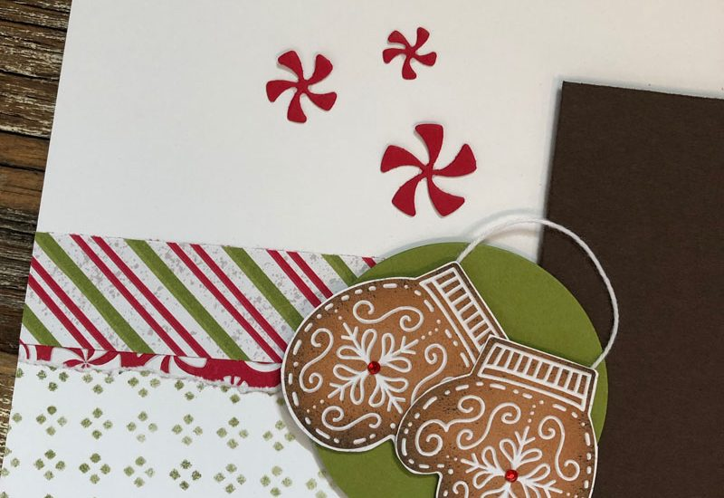 Frosted Gingerbread Layout