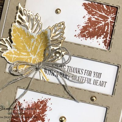 Gorgeous Leaves Card