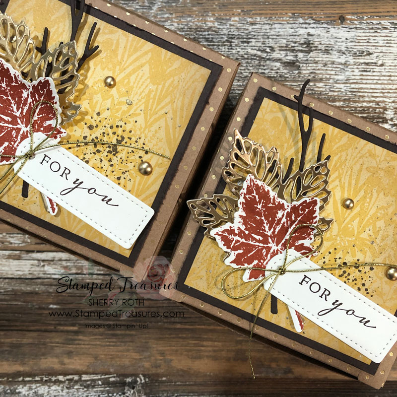 Gorgeous Leaves Gift Box