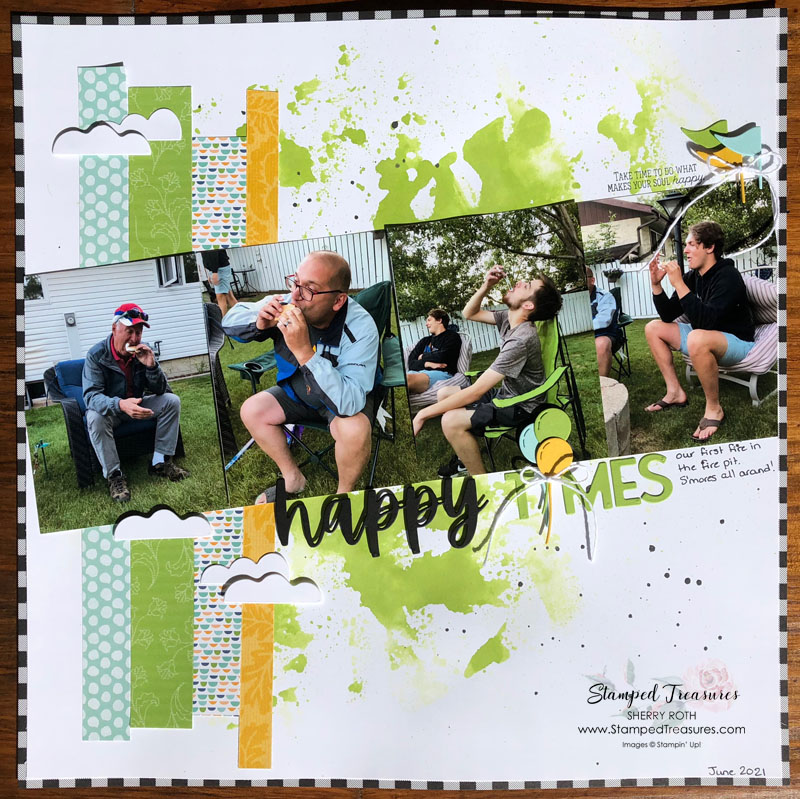 Happy Times Layout