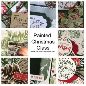 Painted Christmas Class