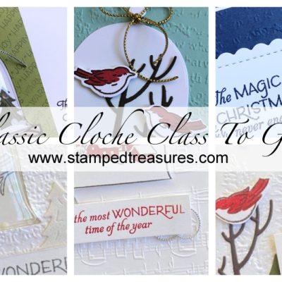 Classic Cloche Class To Go