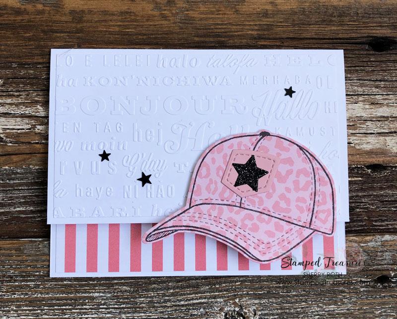 Hats Off Hello Card