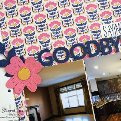 Saying Goodbye Layout