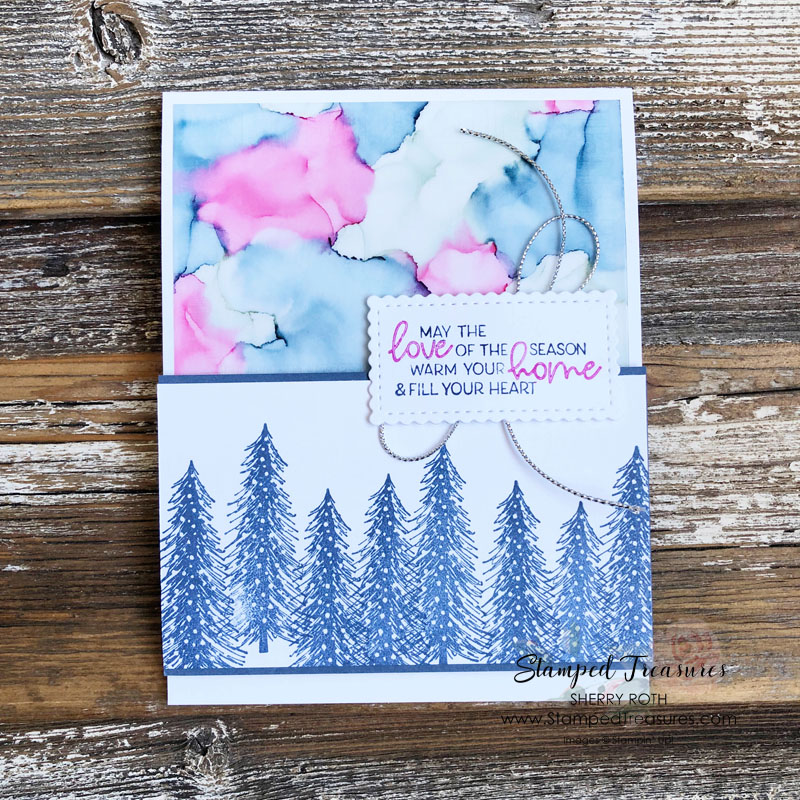 Stampin' Blends & Alcohol Technique
